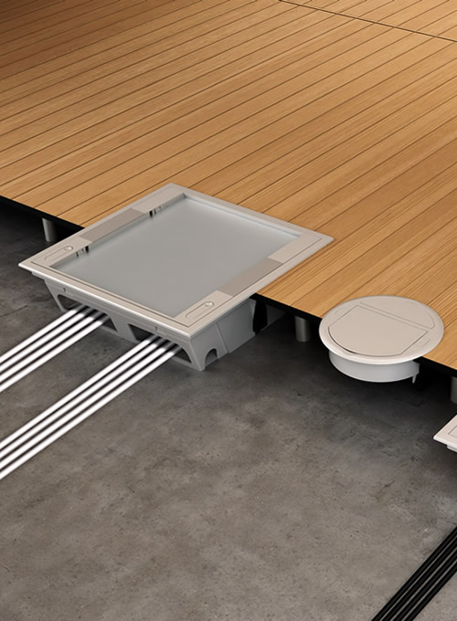 Underfloor And Raised Floor Systems